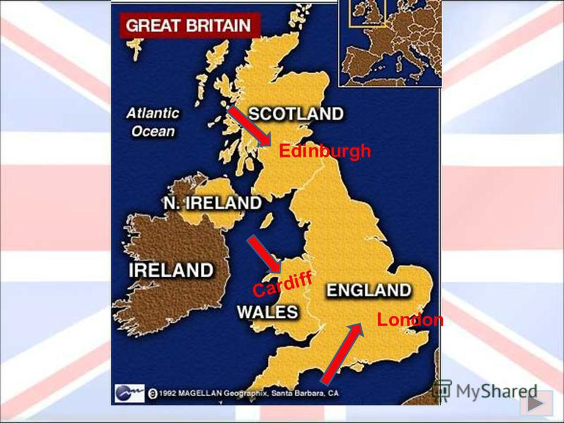 -the parts (countries) Great Britain consists of, and their capitals -the people who live in Great Britain and the languages they speak -big industrial cities of Great Britain