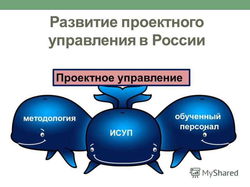 Проектное управление методология ИСУП обученный персонал Развитие проектного управления в России