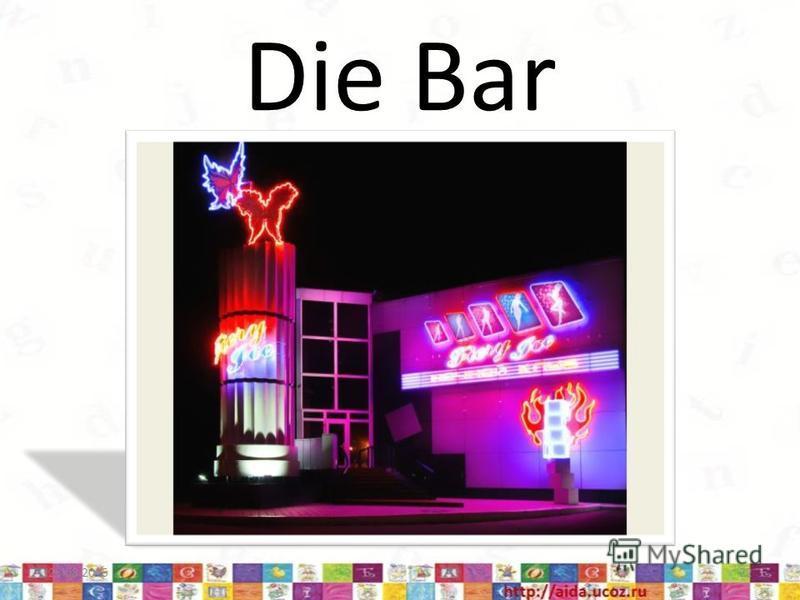 Die Bar 23.08.201522