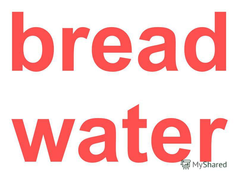 bread water
