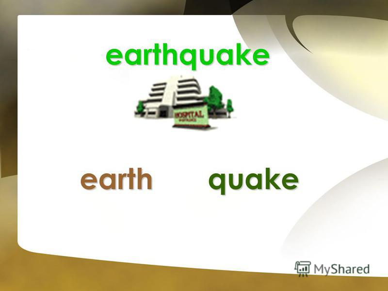 earthquake earthquake