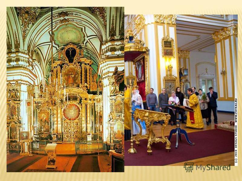 Храм имеет 5 глав. Недалеко от собора построена высокая колокольня со шпилем. Архитектор храма и колокольни – Савва Иванович Чевакинский