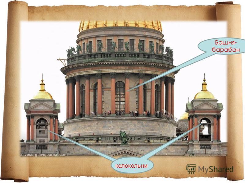 Башня- барабан колокольни