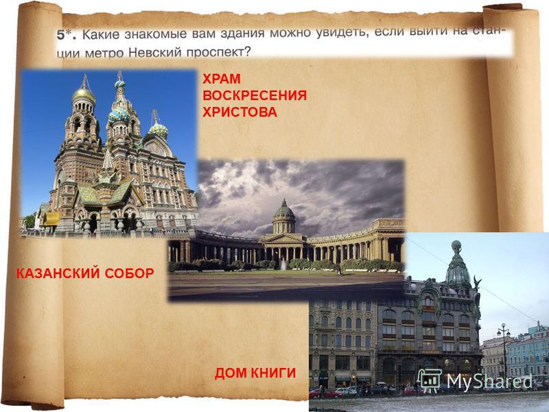 ХРАМ ВОСКРЕСЕНИЯ ХРИСТОВА КАЗАНСКИЙ СОБОР ДОМ КНИГИ