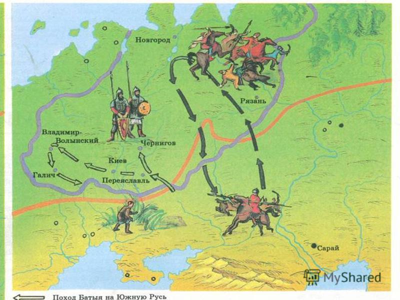 1238 год. Нападение на Владимир.