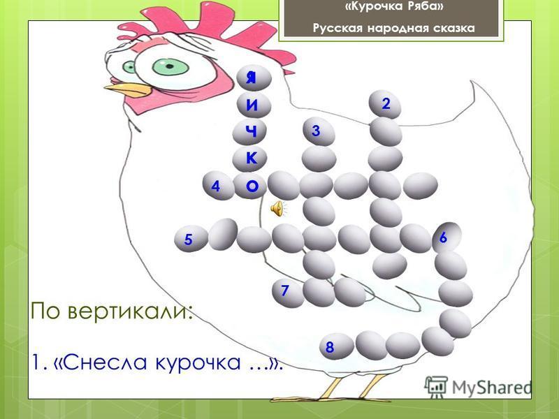 «Курочка Ряба» Русская народная сказка