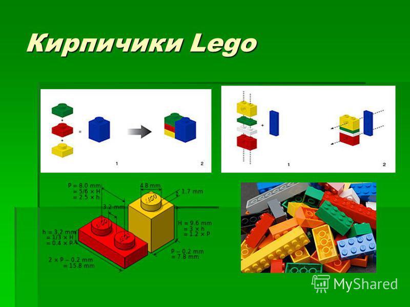Кирпичики Lego