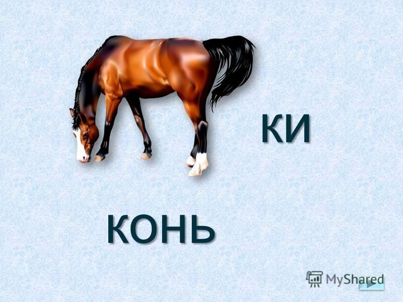 ки конь