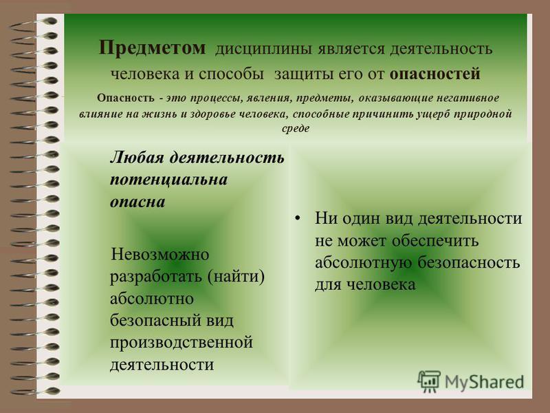Четыре состояния взаимодействия в системе «человек – среда обитания» Комфортное (оптимальное) Допустимое (нейтральное) Опасное (вредное) Чрезвычайно опасное (ЧП)