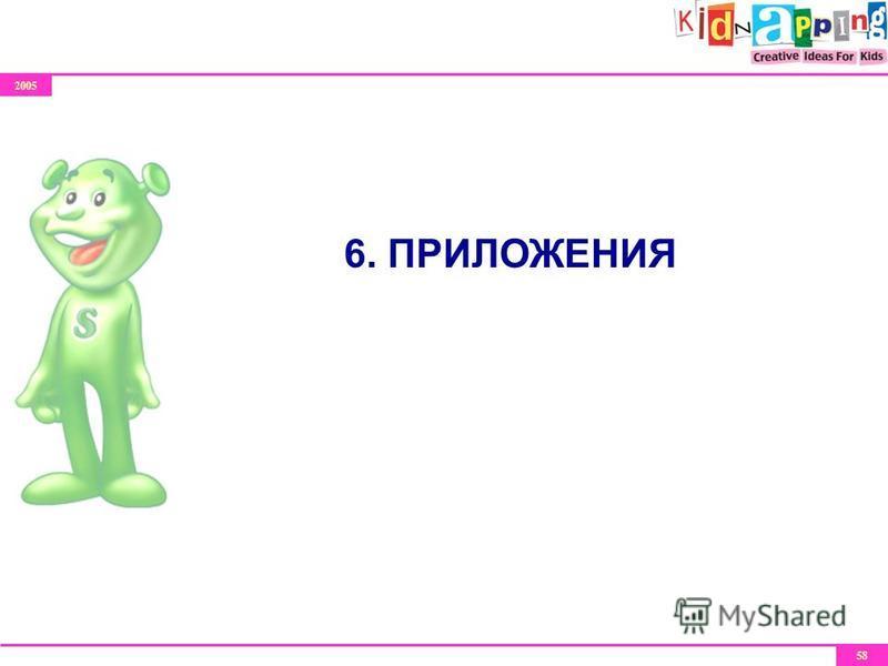 2005 58 6. ПРИЛОЖЕНИЯ