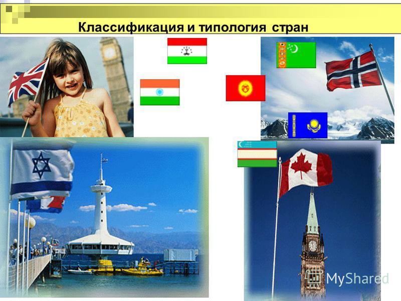 Классификация и типология стран