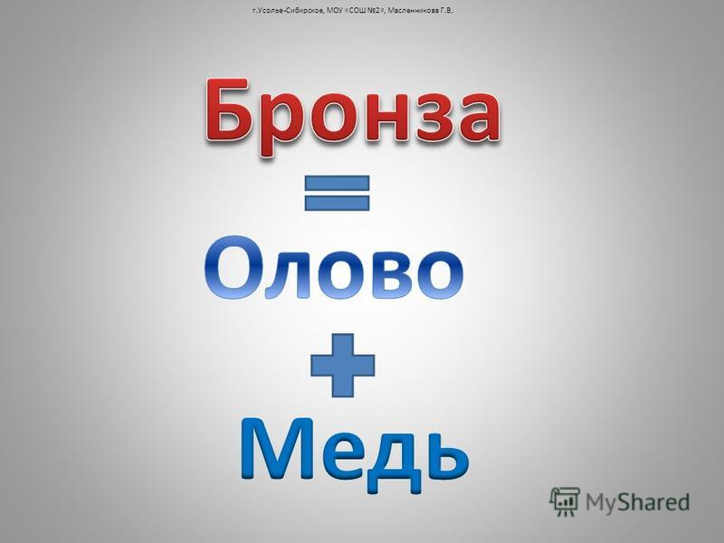 г.Усолье-Сибирское, МОУ «СОШ 2», Масленникова Г.В.