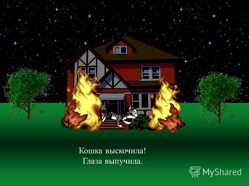 Тили-бом! Загорелся кошкин дом! Загорелся кошкин дом, Идет дым столбом!