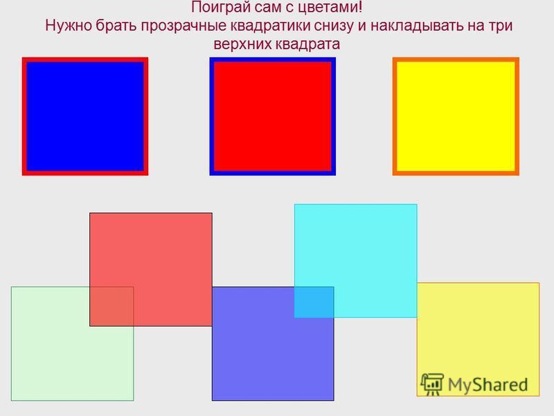 Серую краску можно получить если смешать 2 капли синего цвета, 1 каплю красного и 1 каплю желтого цвета