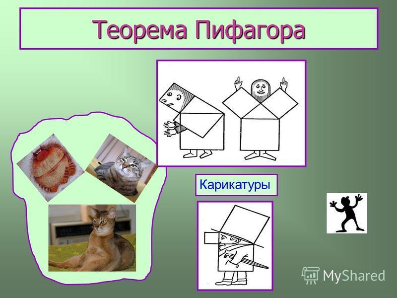 Теорема Пифагора Карикатуры