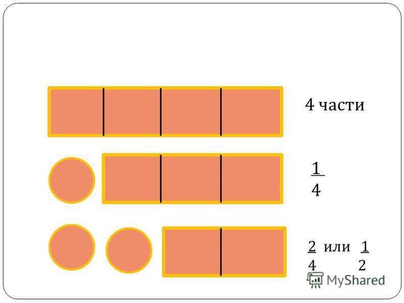 2 или 1 4 2 1414 4 части