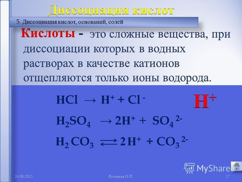 16 2. Сильные и слабые электролиты %