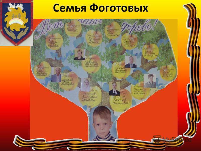 Семья Фоготовых