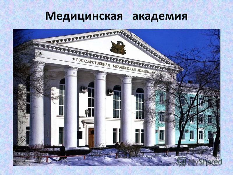 Медицинская академия