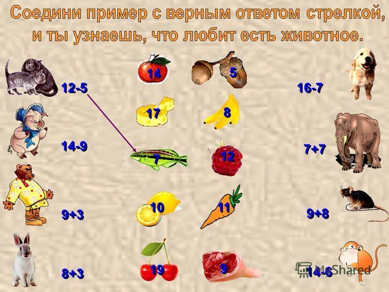14 5 5 8 8 17 11 10 7 7 12 9 9 19 12-5 7+7 9+3 8+3 14-6 9+8 16-7 14-9