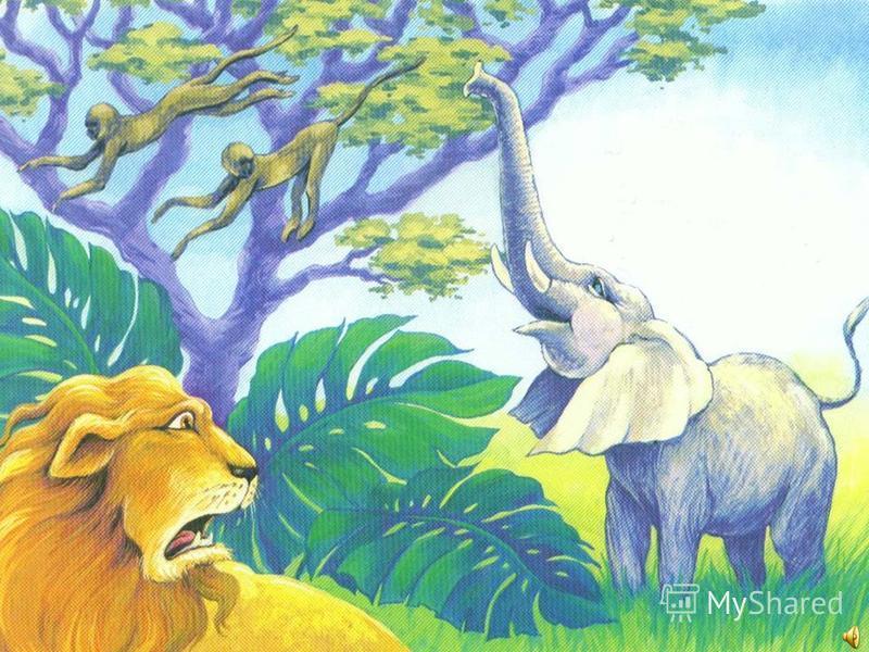 Он скуки не знал: Хобот вверх выгибая, Пел Санни, трубил, Львов и тигров пугая.