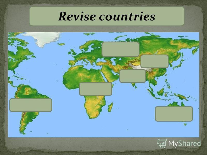 Revise countries Africa