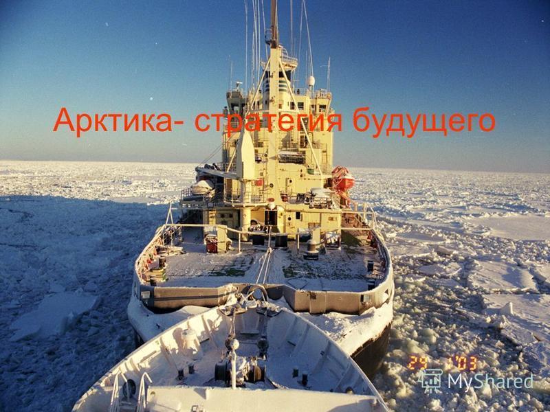 Арктика- стратегия будущего