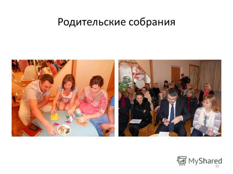 Родительские собрания 15