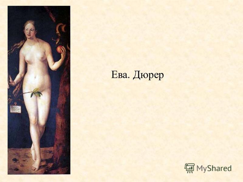 Ева. Дюрер