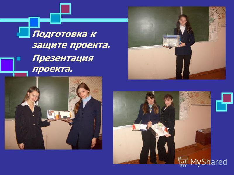 Подготовка к защите проекта. Презентация проекта.