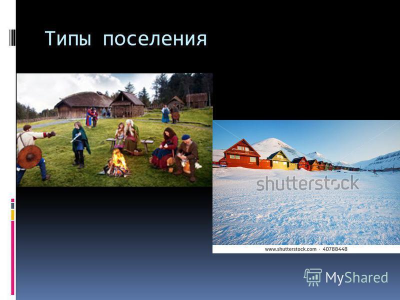 Типы поселения