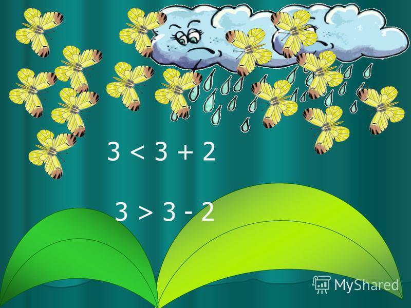 3 < 3 + 2 3 > 3 - 2