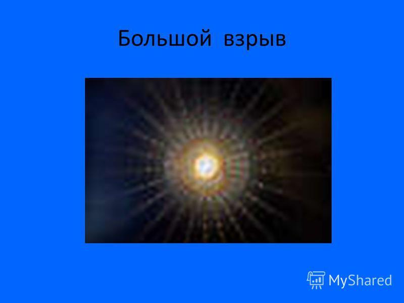 В 1922 г. А. А. Фридман нашел решение уравнения общей теории относительности. Решение оказалось нестандартным. Вселенная либо сжимается, либо расширяется. В 1929 г. Э. Хаббл обнаружил разбегание галактик (по красному смещению в их спектрах), что свид
