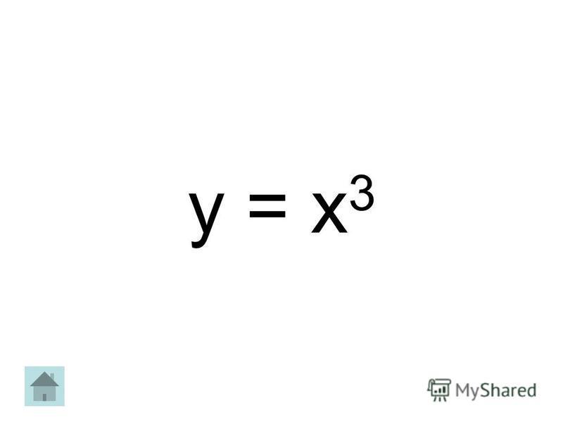 y = х 3
