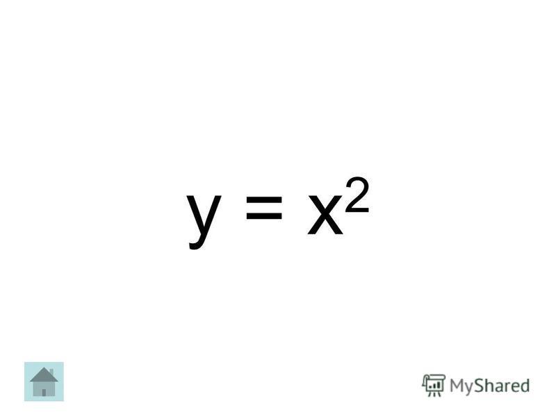 y = х 2