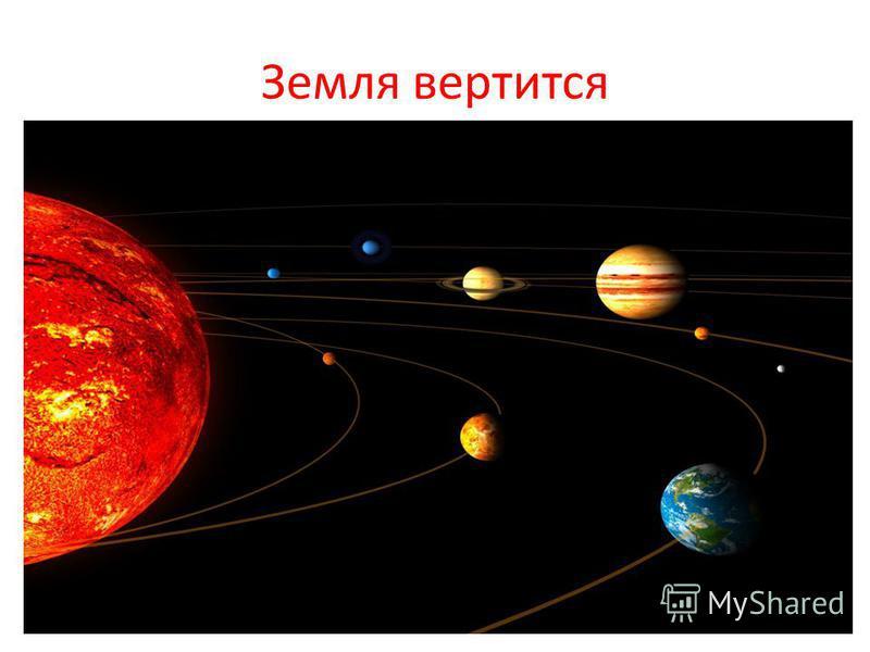 Земля вертится