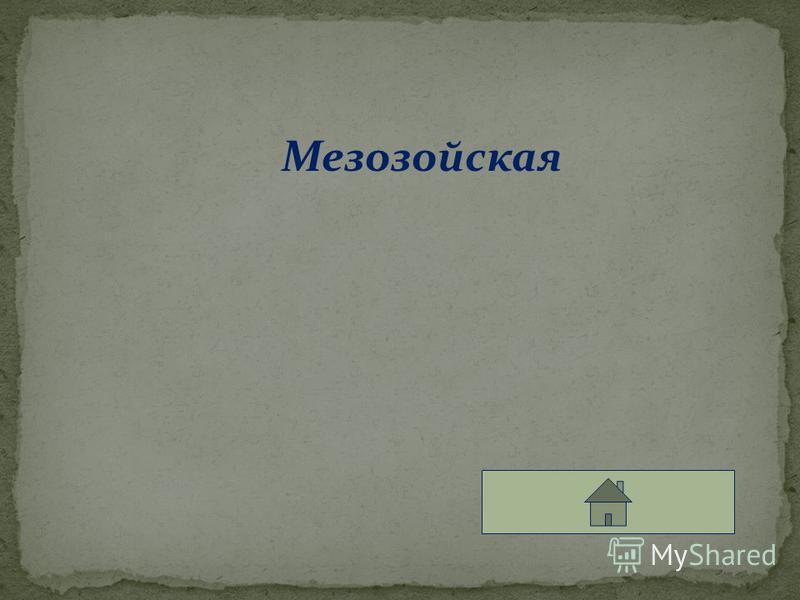 Мезозойская