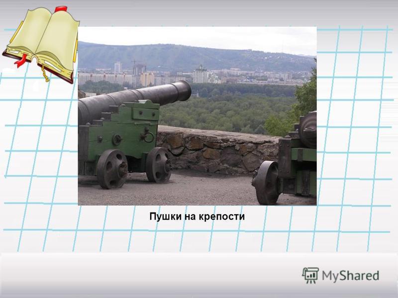 Пушки на крепости