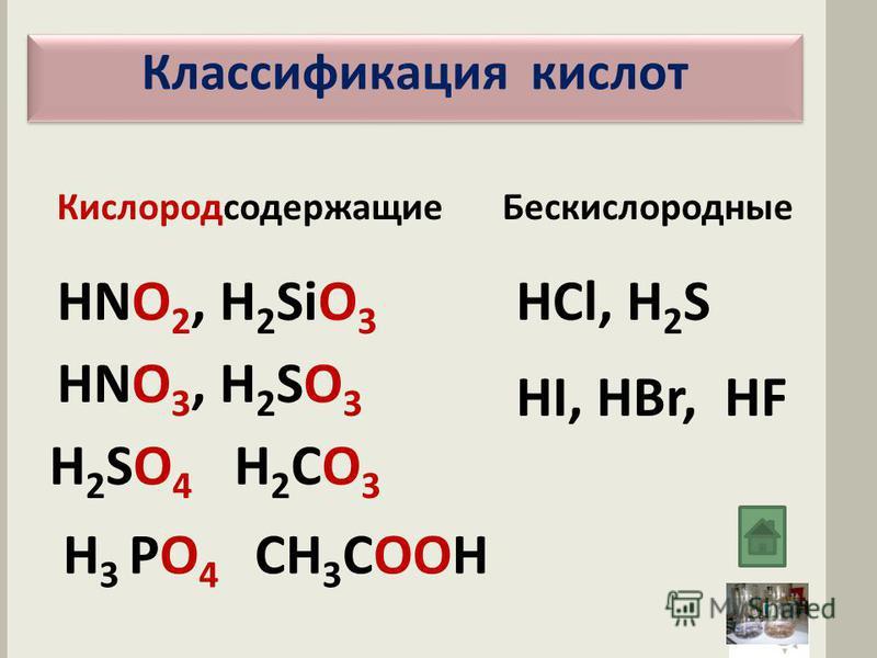 Химические свойства кислот Взаимодействие с основаниями –основаниями реакция нейтрализации Взаимодействие с оксидами металлов –оксидами металлов образование растворимых солей Взаимодействие с солями - выпадение солями осадка или выделение газа Взаимо
