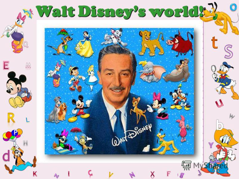 1 Walt Disneys world!