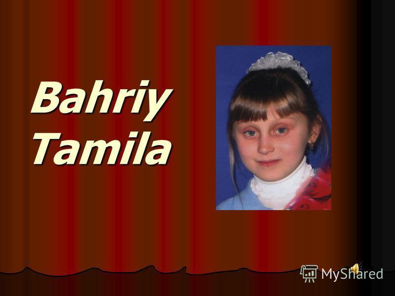 Bahriy Tamila