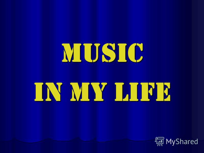 the role music plays in my life essay Music's role in society today music plays an important role of people's everyday lives i think music occupies a big role in human life.