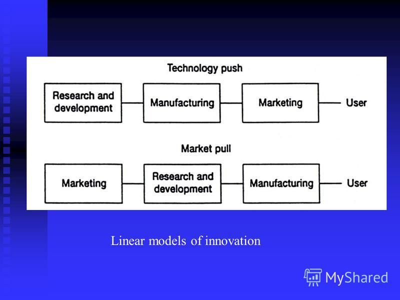 Linear models of innovation