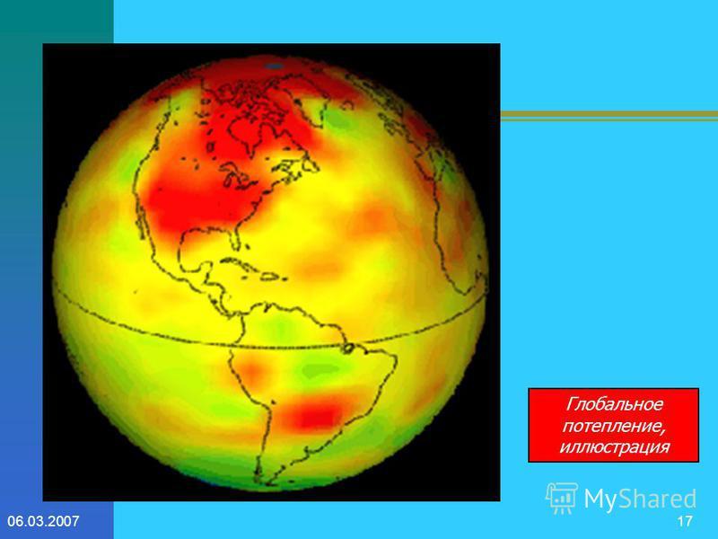 06.03.200716 прогнозы В докладе группы межправительственной комиссии по изменению климата (Шанхай, 2001 год)приведено семь моделей изменения климата в XXI веке. Основные выводы, сделанные в докладе, продолжение глобального потепления, сопровождающего