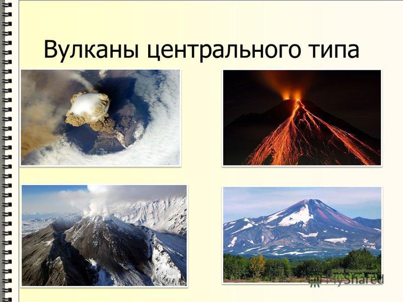 Вулканы центрального типа
