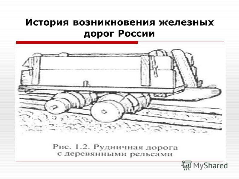 История возникновения железных дорог России