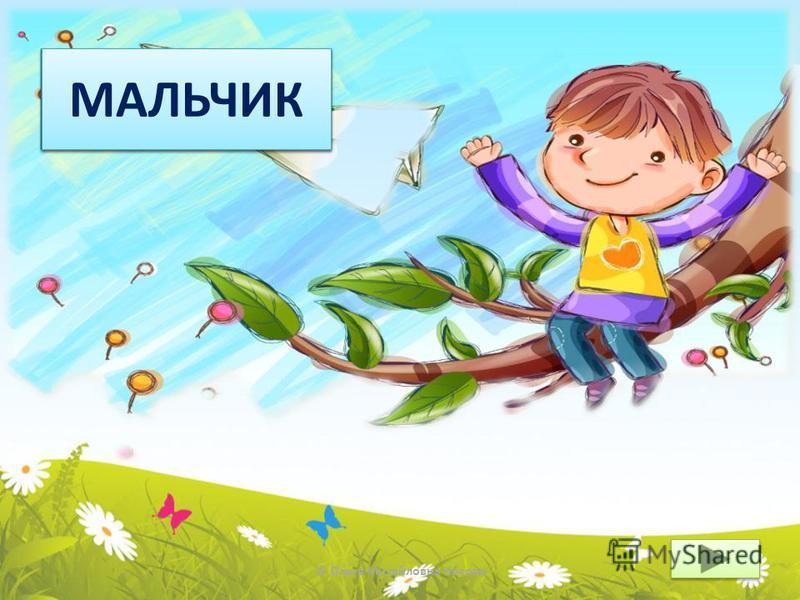 © Ольга Михайловна Носова КТО? МАЛЬЧИК
