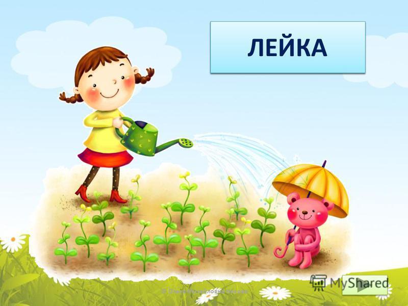© Ольга Михайловна Носова ЧТО? ЛЕЙКА