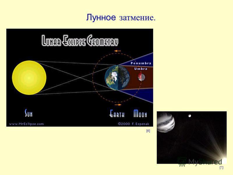 Лунное затмение. [6] [7]