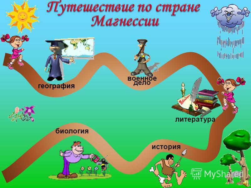 география биология история литература военное дело